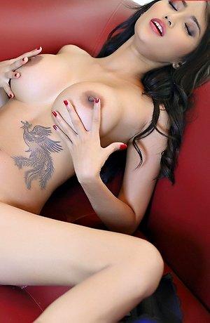 asian lesbians,beautiful,big tits,fingering,mayrita,nude,ramita,redhead,sex toys,tattoo,vibrator,