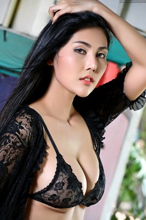 Asian Black Lingerie galleries