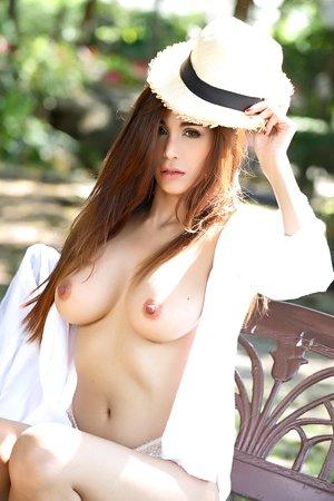 beautiful,bra,lingerie,natalie wang,outdoor,solo girl,stripping,