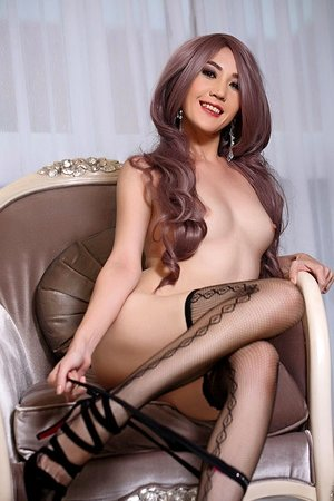 areeya oki, beautiful, lingerie, long hair, slim body, solo girl, stockings,