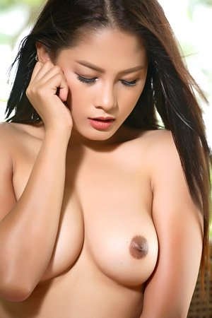 asian fuck, beautiful, big tits, dildo, hairy pussy, long hair, outdoor, pink lingerie, solo girl, winny sung,