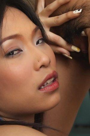 ae marikarn,asian lesbians,brunette,close up,hairy pussy,nude,pussy,pussy licking,school uniform,solo girl,spreading,yoko hasegawa,