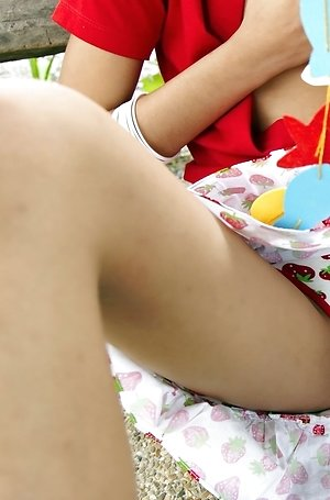 brunette,hairy pussy,hot,milf,nude,outdoor,pussy,solo girl,spreading,yoko hasegawa,
